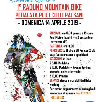 1° RADUNO MOUNTAIN BIKE: PEDALATA SOLIDALE PER I COLLI PAESANI
