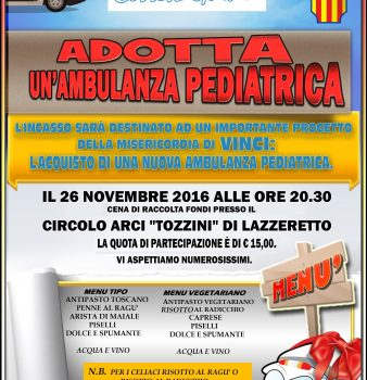 ADOTTA UN'AMBULANZA PEDIATRICA
